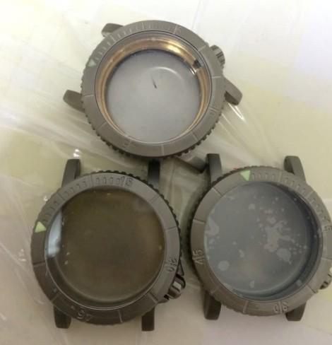Titanium grade 2 [top], grade 5 prototypes [bottom]