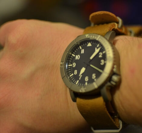 leather mil-strap