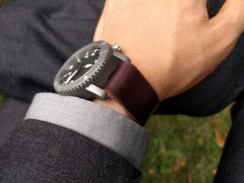 COURG Type-A with Horween Color 8
