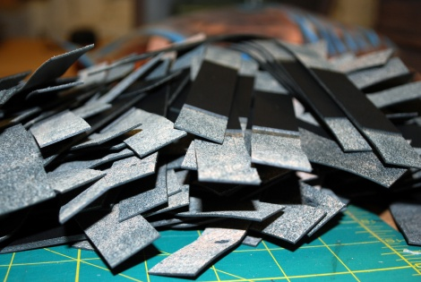 Wickett & Craig leather hand cut straps