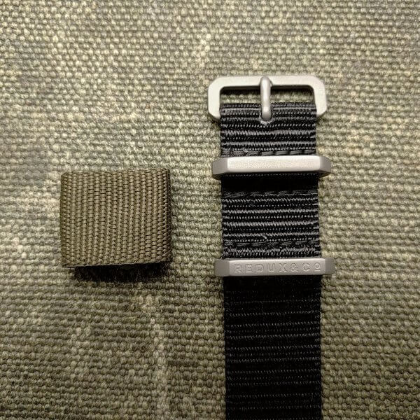 Redux Titanium Watch Strap Hardware