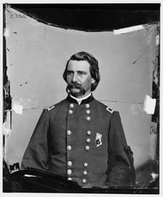 Civil War Union Gen. John A. Logan. Library of Congress Glass negatives