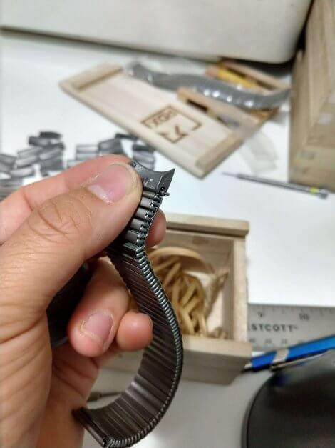 Components assembled