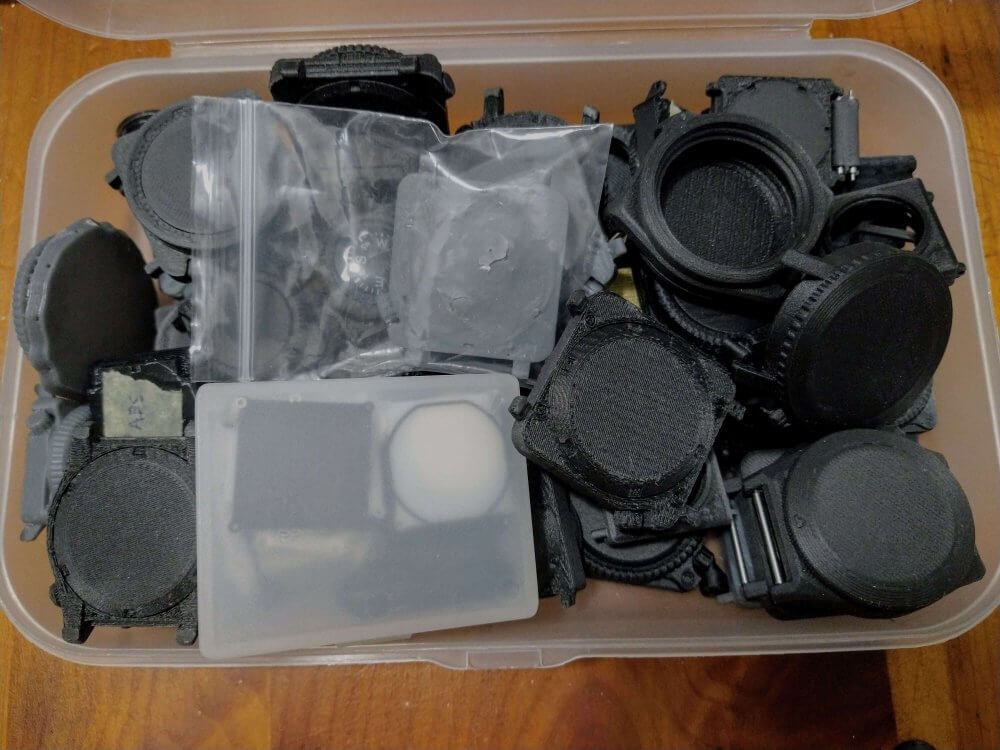 3D Printed Case Prototypes