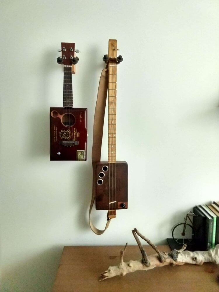Cigar Box Ukulele and Guitar