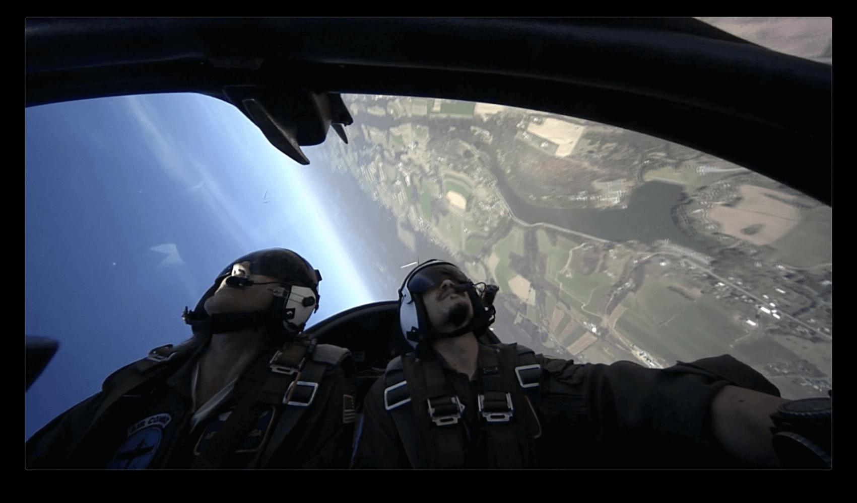 Flying Upside Down