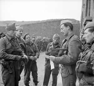 Commandos before the Hardelot Raid